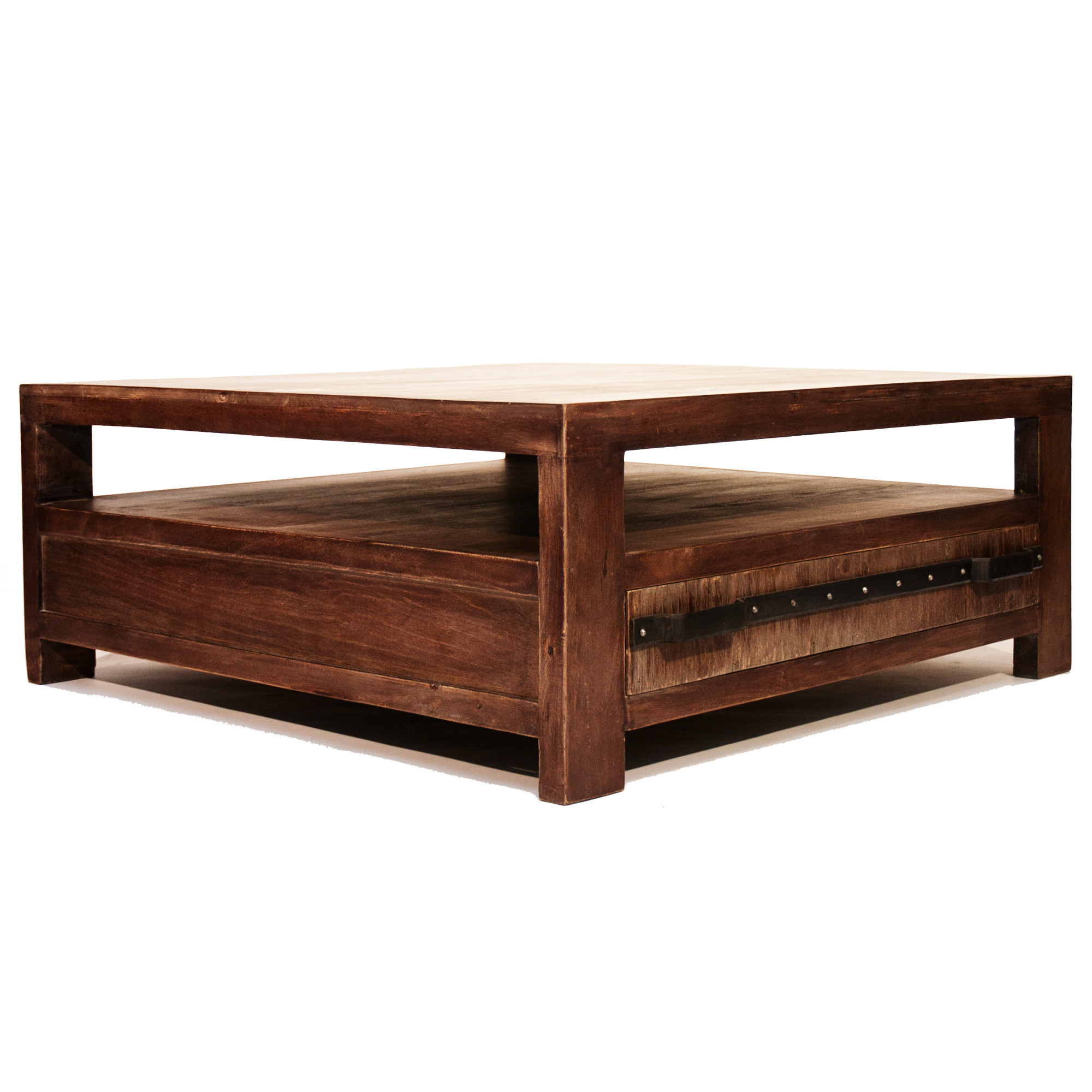 La table basse dock - Table basse coloniale ...