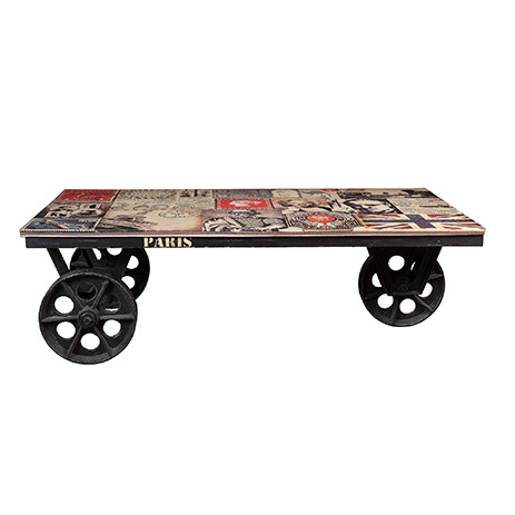 La table basse stamps la maison coloniale - Table basse coloniale ...