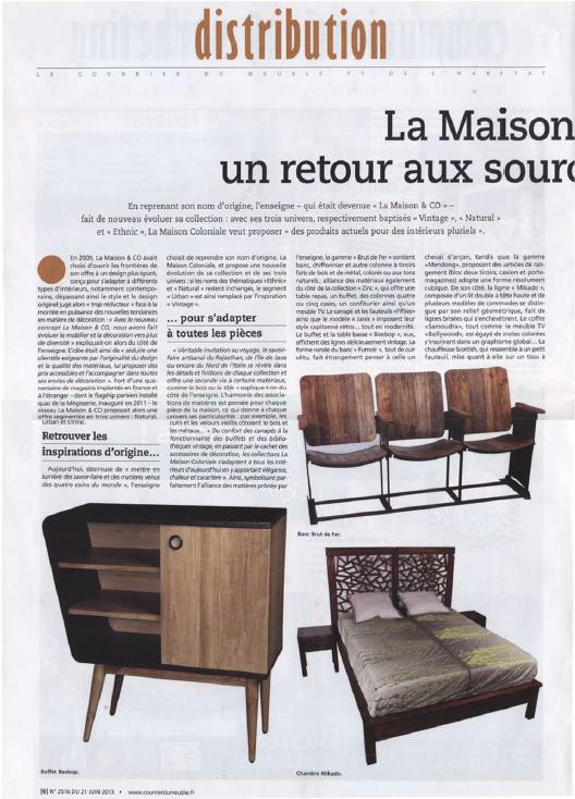 la maison coloniale. Black Bedroom Furniture Sets. Home Design Ideas